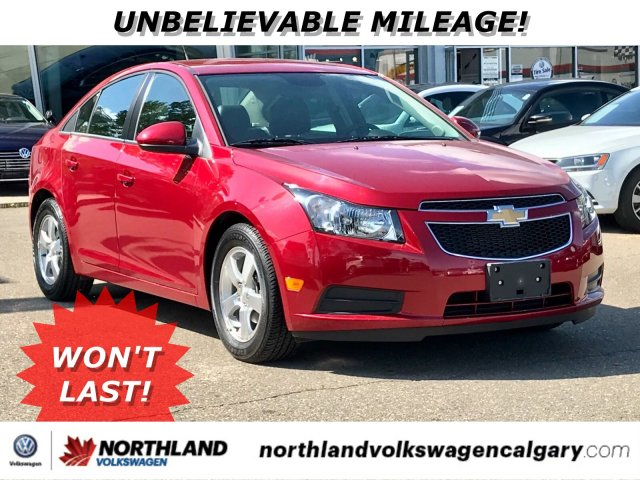USED 2013 CHEVROLET CRUZE LT TURBO FWD 4DR CAR