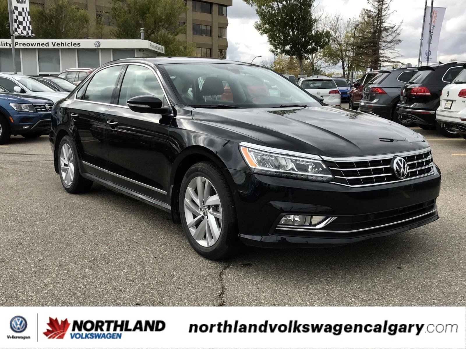 new 2018 volkswagen passat comfortline 4dr car in calgary. Black Bedroom Furniture Sets. Home Design Ideas