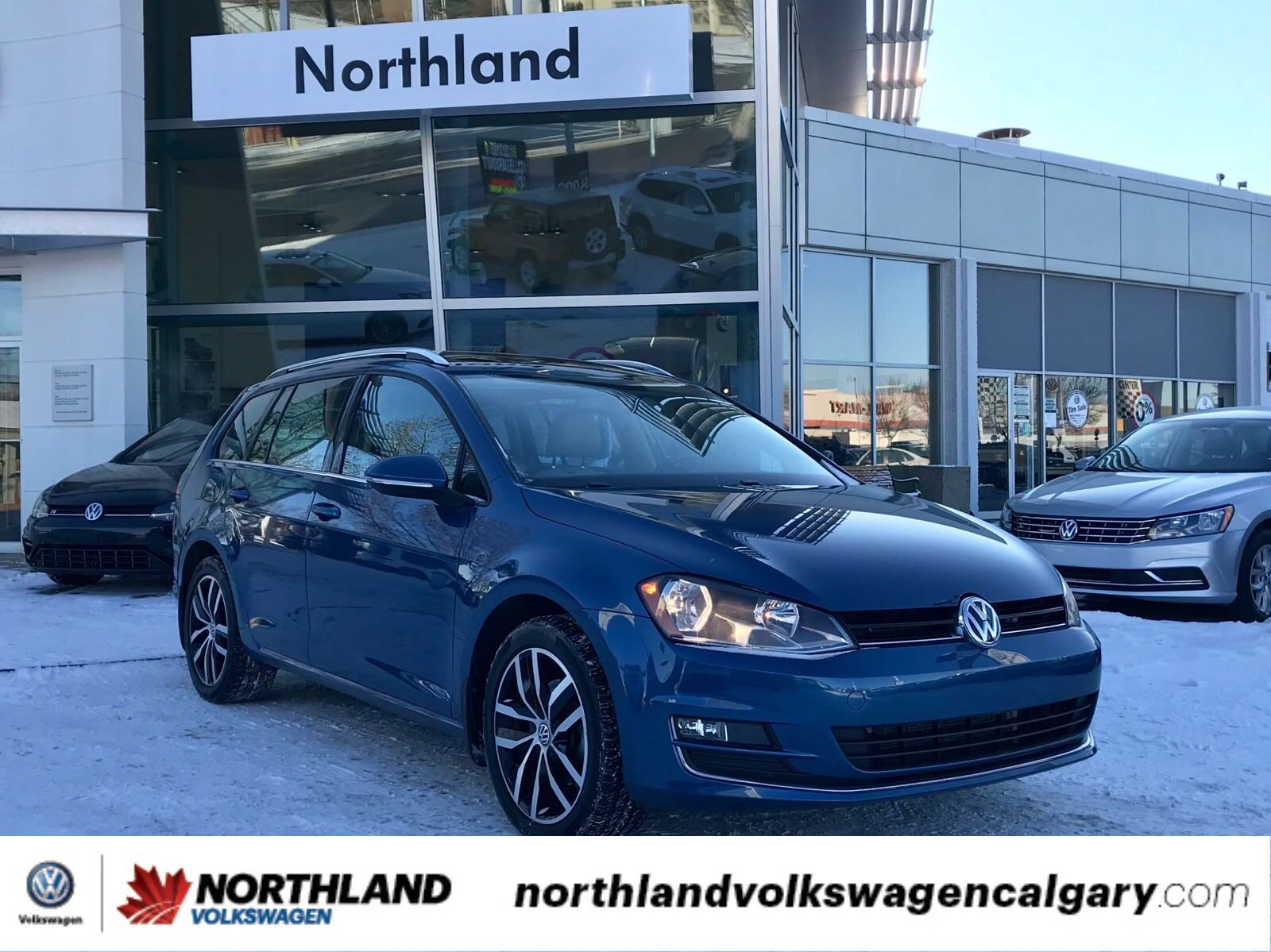 Certified Pre-Owned 2015 Volkswagen Golf Sportwagon Highline