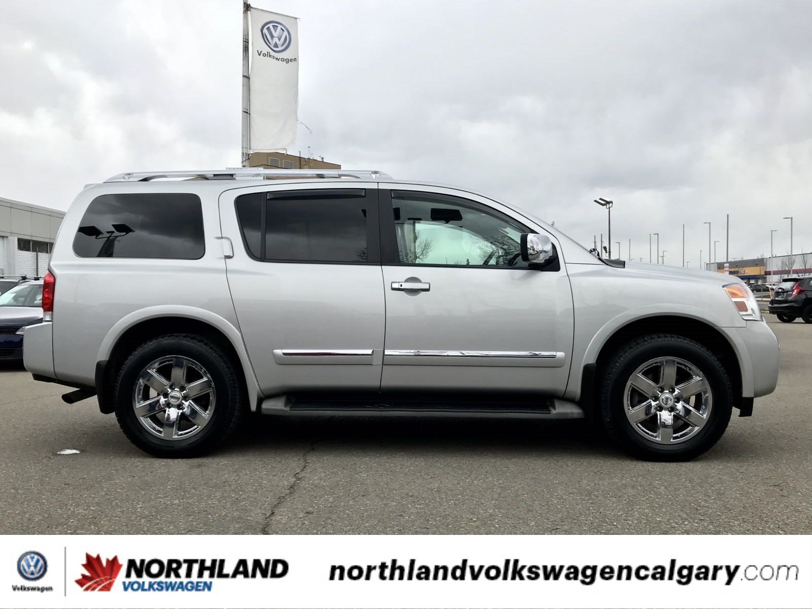 Pre-Owned 2010 Nissan Armada Platinum Edition