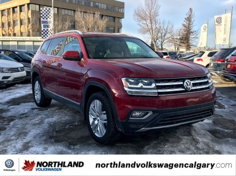 New 2018 Volkswagen Atlas Highline