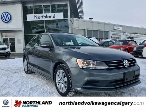 Certified Pre-Owned 2015 Volkswagen Jetta Sedan Trendline