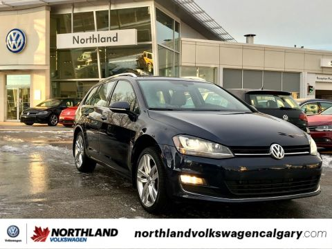 Certified Pre-Owned 2016 Volkswagen Golf Sportwagon Highline