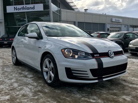 Certified Pre-Owned 2017 Volkswagen Golf GTI Base